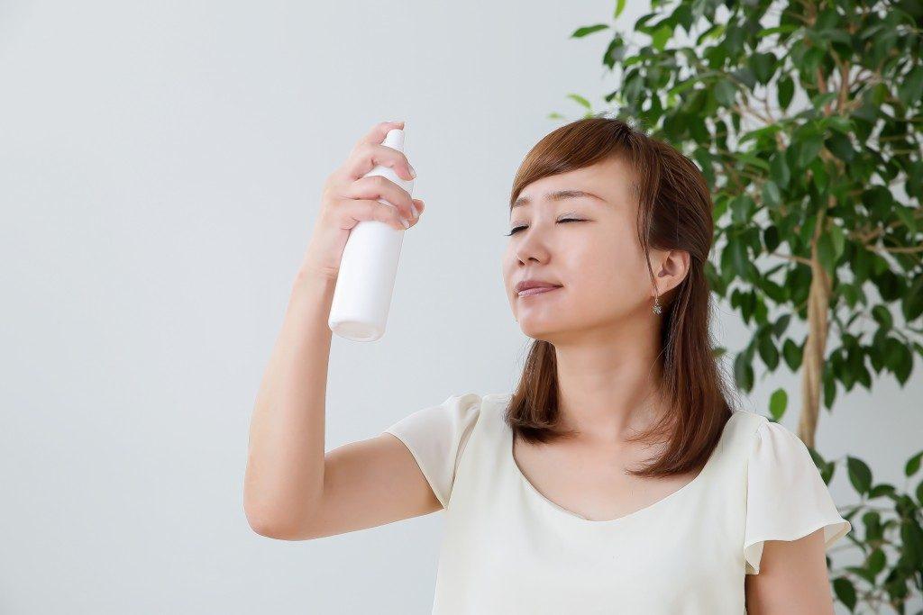 a skin care routine