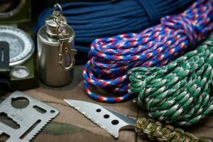 survival tools and paracords