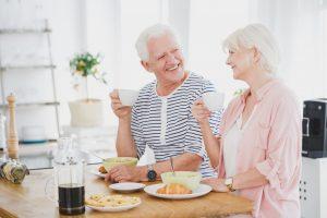 retired senior couple