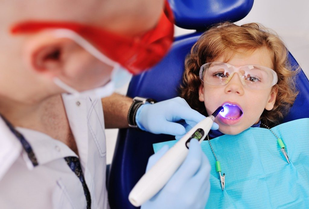 child dental check up