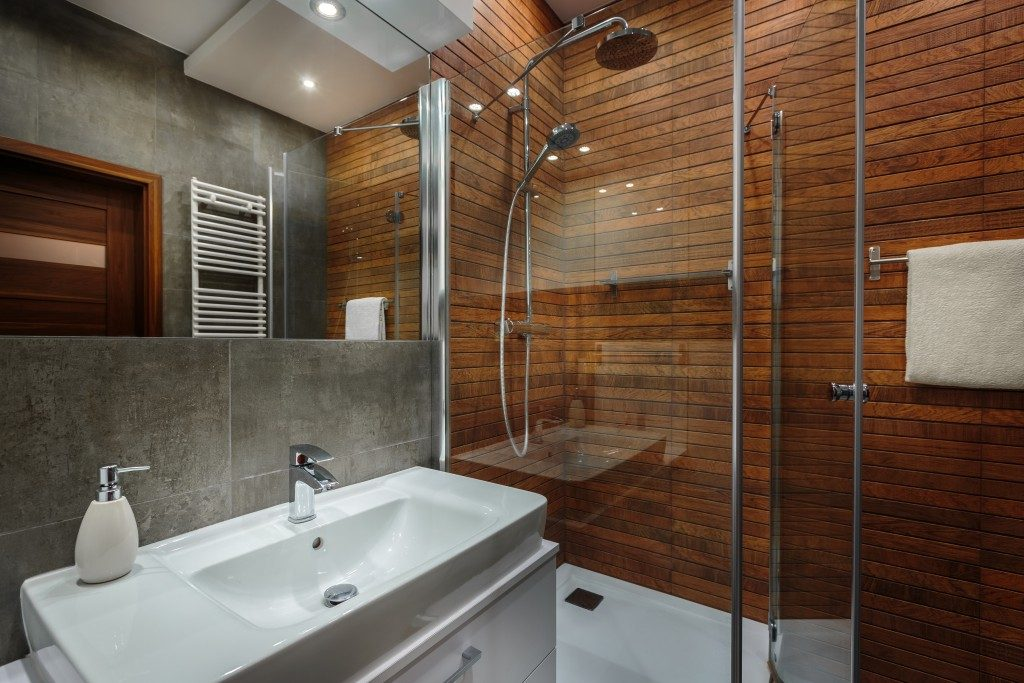 cool bathroom interior