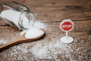 no to sugar concept