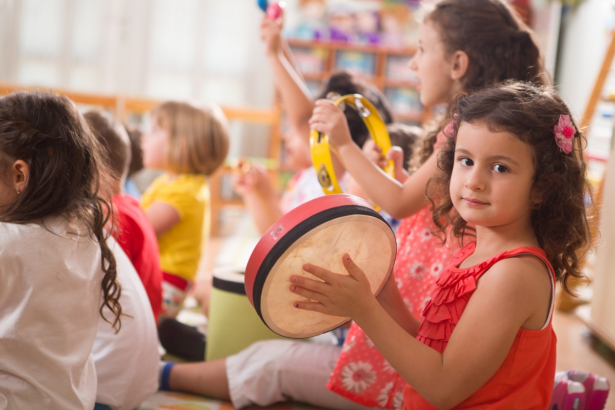 kids learning music