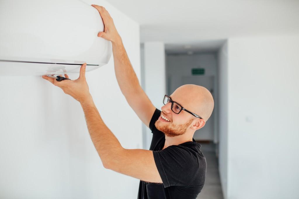 fixing AC unit