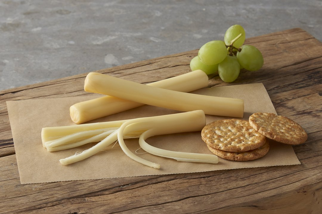 string cheese and biscuits