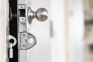 broken door lock